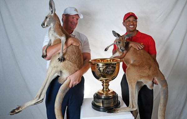 Tiger Woods and Ernie Els headed to Melbourne as Presidents Cup captains