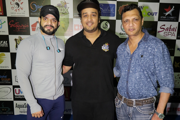 Karan Patel  &  Shashank Khaitan  came to cheer & inspire the participants & enjoyed the excitement