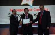 "BCCIs' CFO Mr. Santosh Rangnekar wins ""Roll of Honour"" at the CFO 100 Forum"