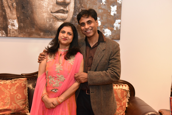 A Diplomat Couple from India Committed to Excellence both in Foreign and Family Affairs