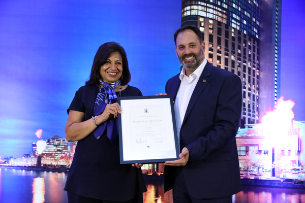 VICTORIA STRENGHTHENS TIES WITH INDIA WITH DR KIRAN MAZUMDAR-SHAW AS VICTORIAN BUSINESS AMBASSADOR