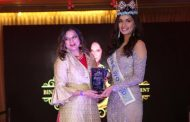 Manushi Chhillar wore Premal Badiani at the Women Empowerment Gala in New York to celebrate International Women's day