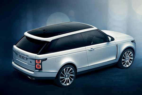Range Rover SV Coupe debuts at Geneva Motor Show