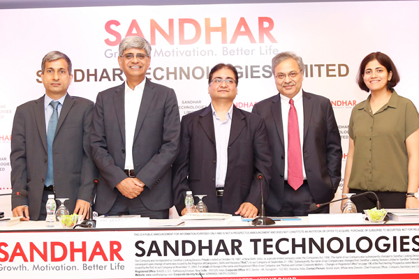 Sandhar Technologies Limited: Initial Public Offer to open on March 19, 2018 and to close on March 21, 2018