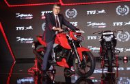 TVS Motor Company launches the new 2018 TVS Apache RTR 160 4V