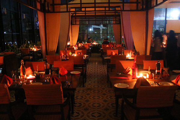 The Earth Hour Celebration at The Orchid Hotel, Pune