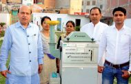 First Air Pollution Test in Sangam Vihar  at Ex-MLA Vijay Jolly's Initiative