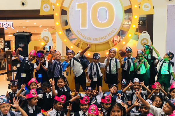 Oberoi Mall celebrates 10th Anniversary with The Akanksha Foundation