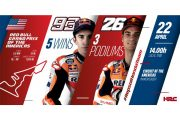 Dani Pedrosa will join Marc Marquez in Texas for Round 3 of the MotoGP Championship