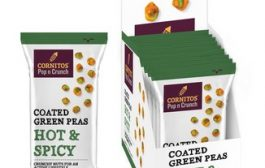 Cornitos Hot & Spicy Coated Green Peas in all new packaging