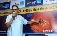 A rare and 1st ARMD surgery in India successfully done by MaxiVision