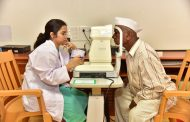 Over 200 patients benefit from the free eye camp held at Punyadham Ashram