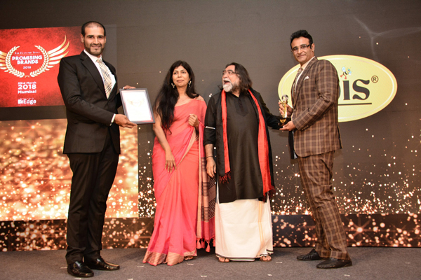 Apis India named The Promising Brand of the Year – 2018 by The Economic Times