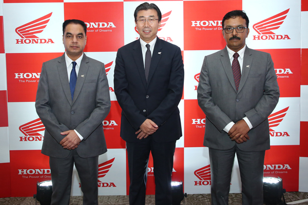 Honda 2Wheelers India announces Plan for FY'2018-19 with an eye on 2020