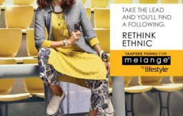 Taapsee Pannu unveiled as the new face of Melange by Lifestyle