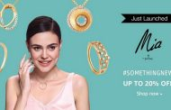 Mia by Tanishq launches on Amazon.in