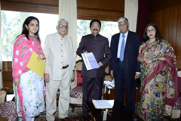 World Trade Centre Mumbai Submits Study Findings to Governor of Maharashtra