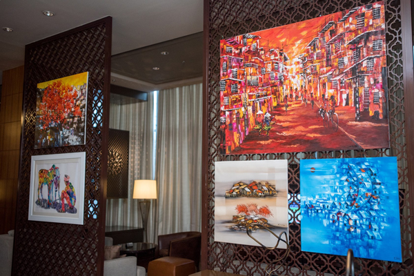 Art comes to Link Cafe at Sheraton Hyderabad Hotel