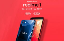 REALME1 SELLS OUT IN 2 MINUTES AND BECOMES THE BEST SELLER ON AMAZON.in