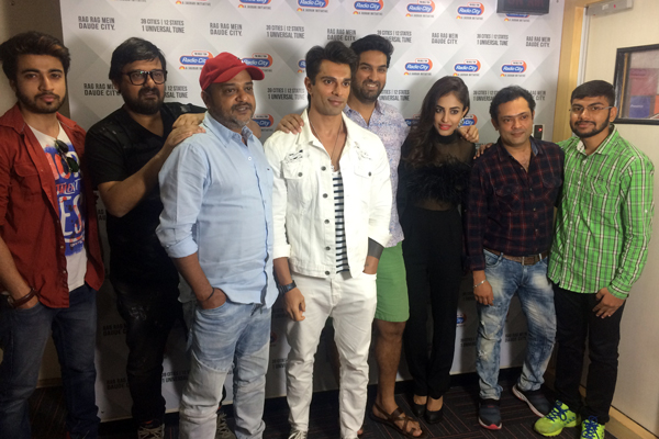 Sajid Wajid, Karan Singh Grover,Kunaal Roy Kapur & Ankoosh Bhatt launched Nikamma Song at Radio City