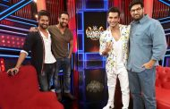 3 Dev actors Karan Singh Grover, Ravi Dubey and Kunaal Roy Kapur enjoyed shooting for WWE Sunday Dhamaal with Salil Acharya