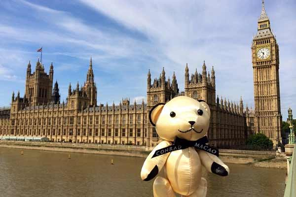 Conrad Macao Invites Facebook Fans to Join #TravelBear2018 Facebook Campaign