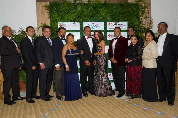 Dr. Zachariah P. Zachariah honored at American Heart Association 2018 Heart Ball