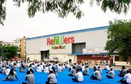 One of its kind Yoga program organized at Refillers Value Mart