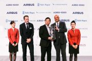 Hong Kong's first Airbus A350-1000 comes home
