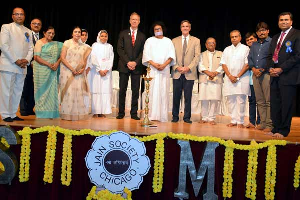 Historical celebration marks 25th anniversary of Jain Temple in Chicago