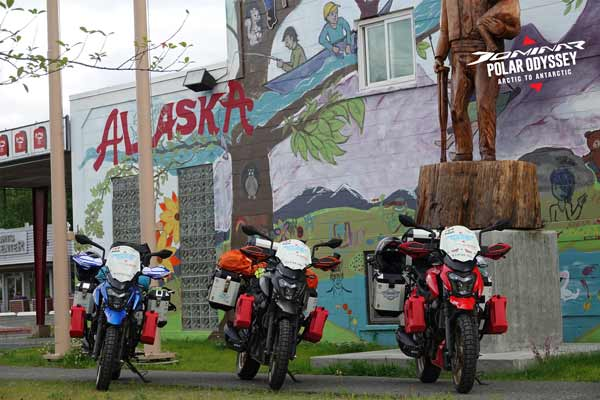 Bajaj Auto flags-off Dominar Polar Odyssey – Arctic to Antarctic