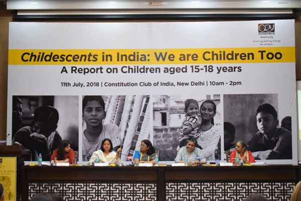 Status of Childescents In India Worrying, Says CRY Report