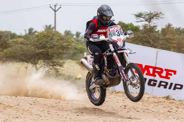 TVS Racing dominates 5th round of Indian National Rally Championship 2018; leads across 3 categories