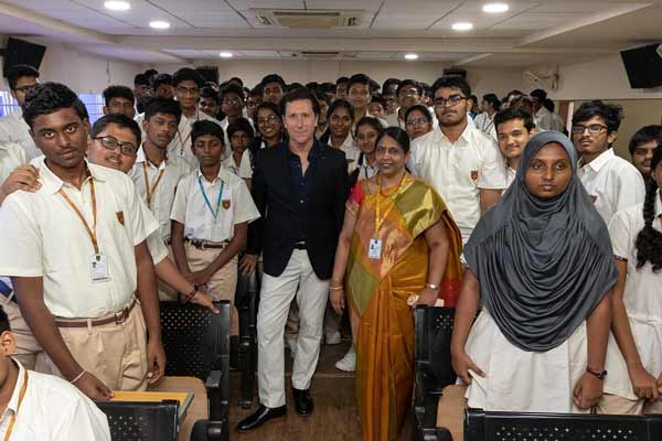 Nissan inspires students in India with