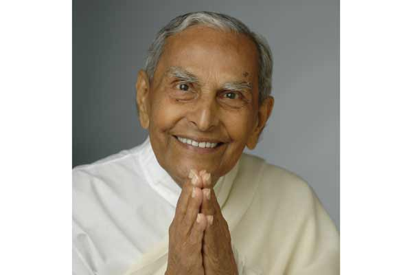 Beloved Revered Dada J.P. Vaswani passes on, from the seen to the unseen at 0901hrs IST July 12 2018, on sacred Guruvaar (Thursday)