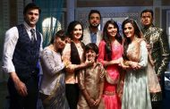 Eisha Singh, Adnan Khan with cast of serial Ishq Subhan Allah shot Bakra Eid promo