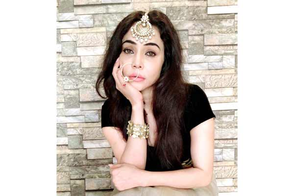 Actress and model Nikita Rawal received Dadasaheb Phalke Award recently for contribution to Film industry