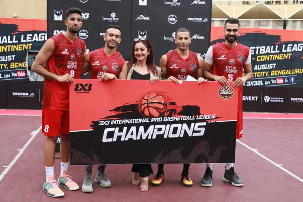 Delhi Hoopers emerge victorious in the fifth round of 3X3 Pro Basketball League