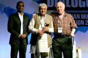 "Javed Akhtar is Indian Music Industry's ""Person of the Year"""
