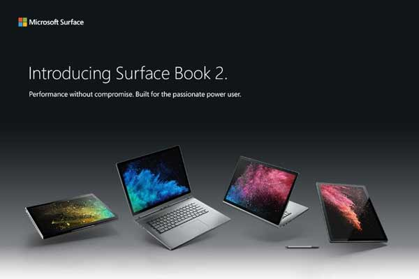 Microsoft Surface Book 2 and Surface Laptop Now Available in India