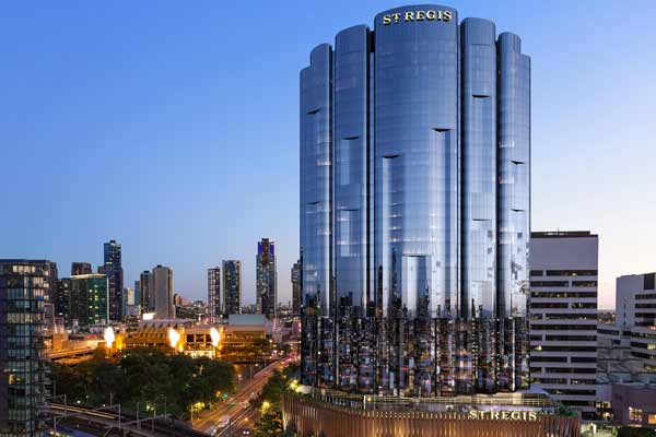 ST. REGIS HOTELS & RESORTS SLATED TO DEBUT IN AUSTRALIA, BRINGING MODERN GLAMOUR TO MELBOURNE IN 2022