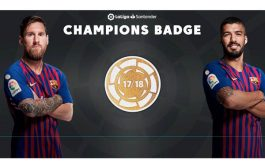 FC Barcelona shirt to sport new LaLiga champions badge