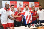 ATK all geared up for Fifth Edition of ISL -  unveils the new red and white official team jersey