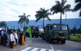 Endorsing Make-in-India, Dr. Subhash Bhamre MoS for Defence Flags off range of Indigenously designed and built Defence Systems at L&T's Talegaon Complex
