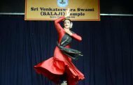 Acclaimed Kathak dancer Anindita dazzled the audience with her spectacular performance
