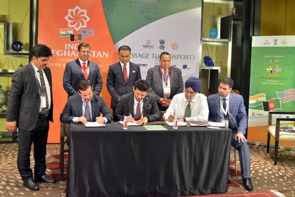 SpiceJet signs MoU with Afghanistan Chamber of Commerce & Industries