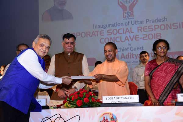 Radico Khaitan Limited contributes Rs 51 lacs for Swachh Bharat Mission of UP Govt