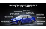 ŠKODA AUTO India introduces the RAPID ONYX