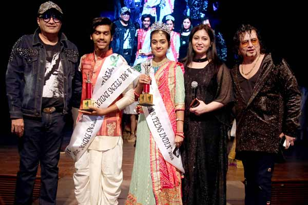 Pooja Chopra, Alka yagnik, Shibani Kashyap, Abu Malik,Arishfa Khan came for Perfect Miss & Mr. Teen India