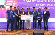 Amrita Vishwa Vidyapeetham Students Win TCS' EngiNX 2018 for creating a Digital Twin in 'Smart Manufacturing'